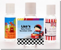 Nascar Inspired Racing - Personalized Baby Shower Hand Sanitizers Favors
