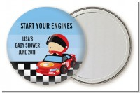 Nascar Inspired Racing - Personalized Baby Shower Pocket Mirror Favors