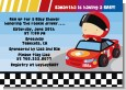 Nascar Inspired Racing - Baby Shower Invitations thumbnail