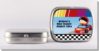 Nascar Inspired Racing - Personalized Baby Shower Mint Tins