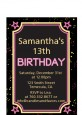 Neon Pink Glow In The Dark - Birthday Party Petite Invitations thumbnail