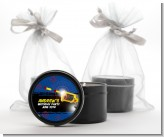 Nerf Gun - Birthday Party Black Candle Tin Favors
