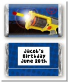 Nerf Gun - Personalized Birthday Party Mini Candy Bar Wrappers
