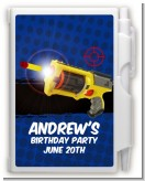 Nerf Gun - Birthday Party Personalized Notebook Favor