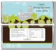 New Jersey Skyline - Personalized Bridal Shower Candy Bar Wrappers thumbnail