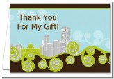 New Jersey Skyline - Bridal Shower Thank You Cards
