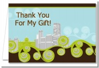 New Jersey Skyline - Bridal | Wedding Thank You Cards