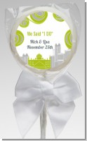 New Jersey Skyline - Personalized Bridal Shower Lollipop Favors