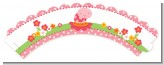 Modern Ladybug Pink - Birthday Party Cupcake Wrappers