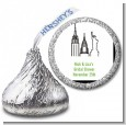 New York City - Hershey Kiss Bridal Shower Sticker Labels thumbnail