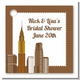 New York City Skyline - Personalized Bridal Shower Card Stock Favor Tags thumbnail
