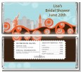 New York Skyline - Personalized Bridal Shower Candy Bar Wrappers thumbnail