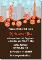 New York Skyline - Bridal Shower Invitations