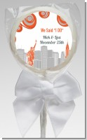 New York Skyline - Personalized Bridal Shower Lollipop Favors