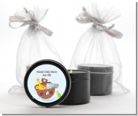 Noah's Ark - Baby Shower Black Candle Tin Favors