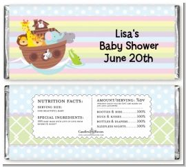 Noah's Ark - Personalized Baby Shower Candy Bar Wrappers