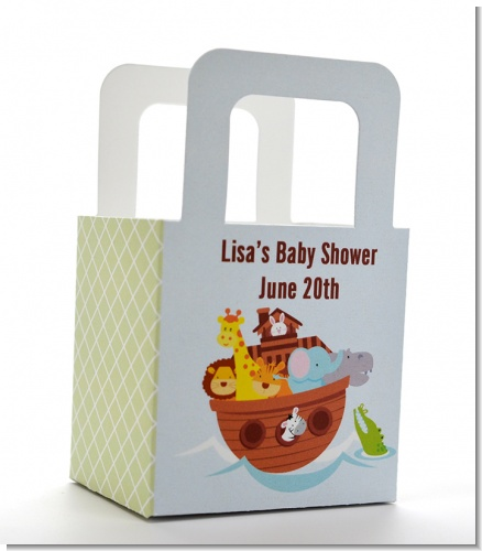 Noah's Ark - Personalized Baby Shower Favor Boxes