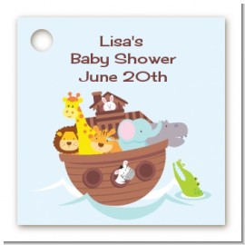 Noah's Ark - Personalized Baby Shower Card Stock Favor Tags