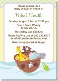 Noah's Ark - Baby Shower Invitations
