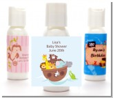 Noah's Ark - Personalized Baby Shower Lotion Favors