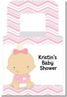 Little Girl Nurse On The Way - Personalized Baby Shower Favor Boxes