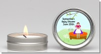 Nursery Rhyme - Lil Miss Muffett - Baby Shower Candle Favors