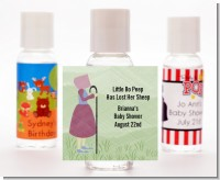 Nursery Rhyme - Little Bo Peep - Personalized Baby Shower Hand Sanitizers Favors
