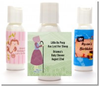 Nursery Rhyme - Little Bo Peep - Personalized Baby Shower Lotion Favors