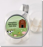 Nursery Rhyme - Old McDonald - Personalized Baby Shower Candy Jar