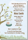 Nursery Rhyme - Rock a Bye Baby - Baby Shower Invitations