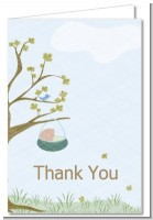 Nursery Rhyme - Rock a Bye Baby - Baby Shower Thank You Cards