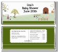 Nursery Rhyme - Personalized Baby Shower Candy Bar Wrappers thumbnail