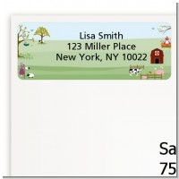 Nursery Rhyme - Baby Shower Return Address Labels