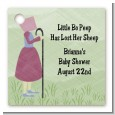 Nursery Rhyme - Little Bo Peep - Personalized Baby Shower Card Stock Favor Tags thumbnail