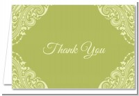 Sage Green - Bridal Shower Thank You Cards