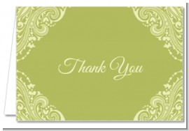 Sage Green - Bridal | Wedding Thank You Cards