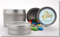 Oh Baby Shower Boy - Custom Baby Shower Favor Tins