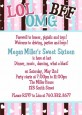 OMG LOL BFF Sweet 16 - Birthday Party Invitations thumbnail