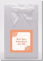Orange Damask - Bridal Shower Goodie Bags