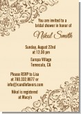 Beige & Brown - Bridal Shower Invitations