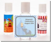 Our Little Peanut Boy - Personalized Baby Shower Hand Sanitizers Favors