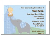 Our Little Peanut Boy - Baby Shower Petite Invitations