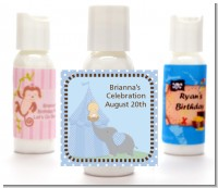 Our Little Peanut Boy - Personalized Baby Shower Lotion Favors