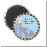 Our Little Peanut Boy - Personalized Baby Shower Magnet Favors
