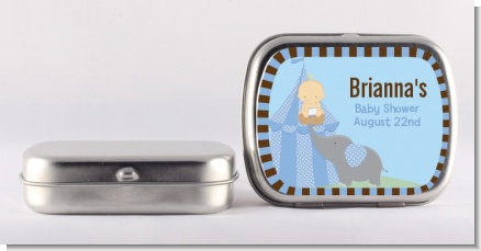 Our Little Peanut Boy - Personalized Baby Shower Mint Tins