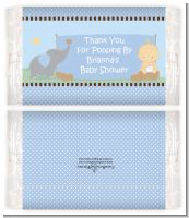 Our Little Peanut Boy - Personalized Popcorn Wrapper Baby Shower Favors