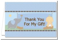 Our Little Peanut Boy - Baby Shower Thank You Cards