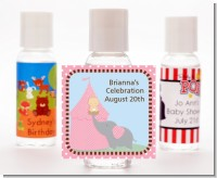 Our Little Peanut Girl - Personalized Baby Shower Hand Sanitizers Favors