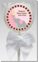 Our Little Peanut Girl - Personalized Baby Shower Lollipop Favors