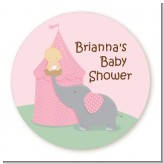 Our Little Peanut Girl - Personalized Baby Shower Table Confetti